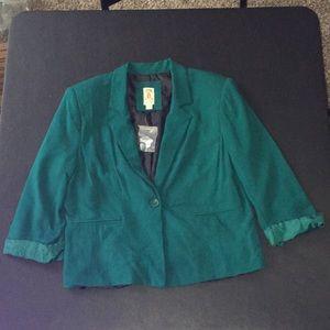 Decree Emerald Blazer